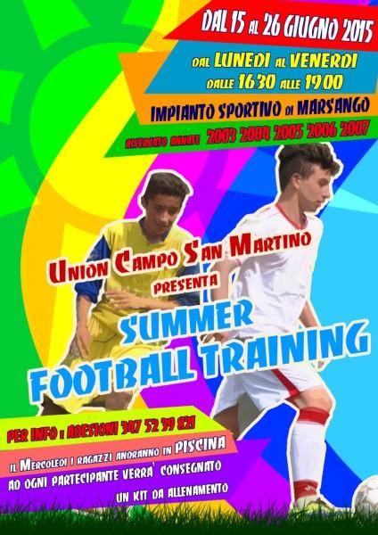 Football_training2015