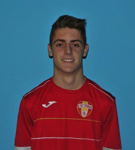 Saccon Gianmarco, centrocampista offensivo classe 1995