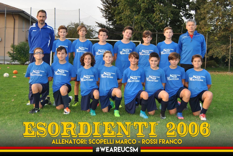 Esordienti 2006