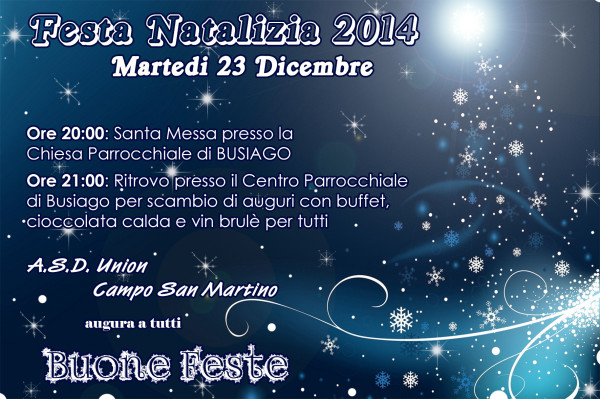 Festa Natale 2014